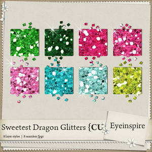 Sweetest Dragon Glitters