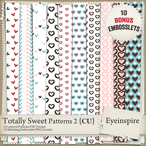 Totally Sweet Embossing Kit 2