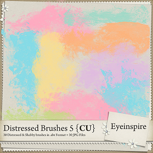 Distressed Brushes 5