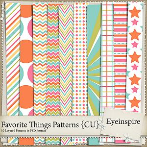 Favorite Things Patterns