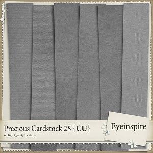 Precious Cardstock 25