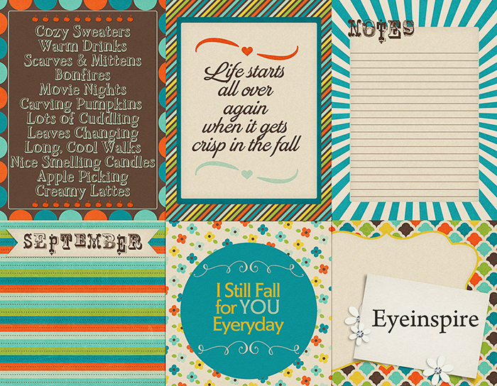 project life, 365, project 52, digital scrapbooking, scrapbooking, freebie, free, september, cards, project life cards, 3x4, fall, colorful, eyeinspire, photographers, photography,invitations,