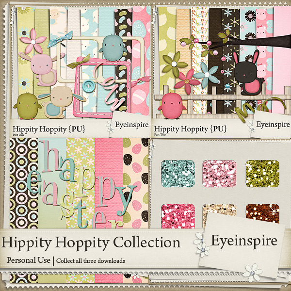 Hippity Hoppity Easter Collection Freebie