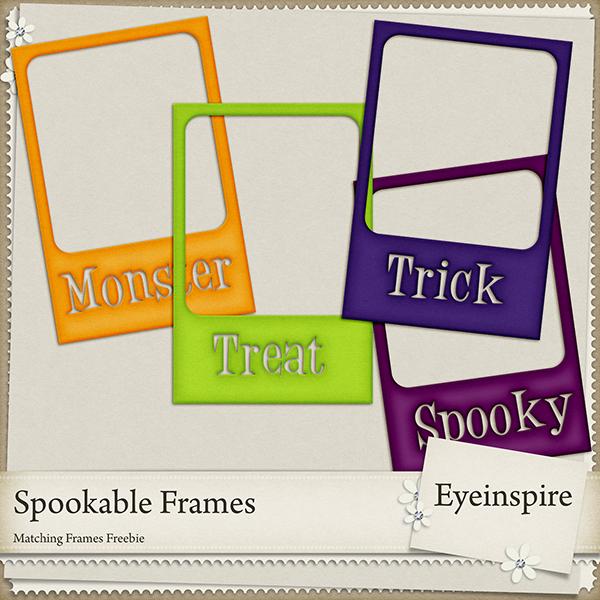 187 Spookable Frames Freebie