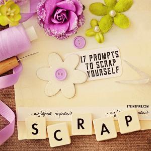 17 scrapbooking prompts