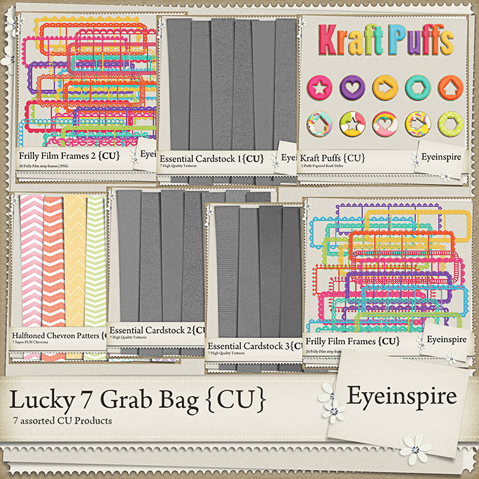 Scrapbooking Grab Bag