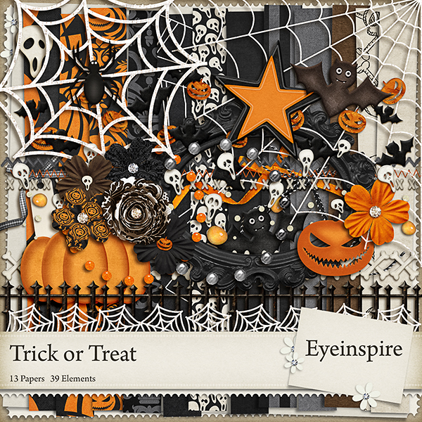 freebie, free, digiscrap, digifree, download, digital scrapbooking, scrapbook, halloween kit, eyeinspire, holiday,