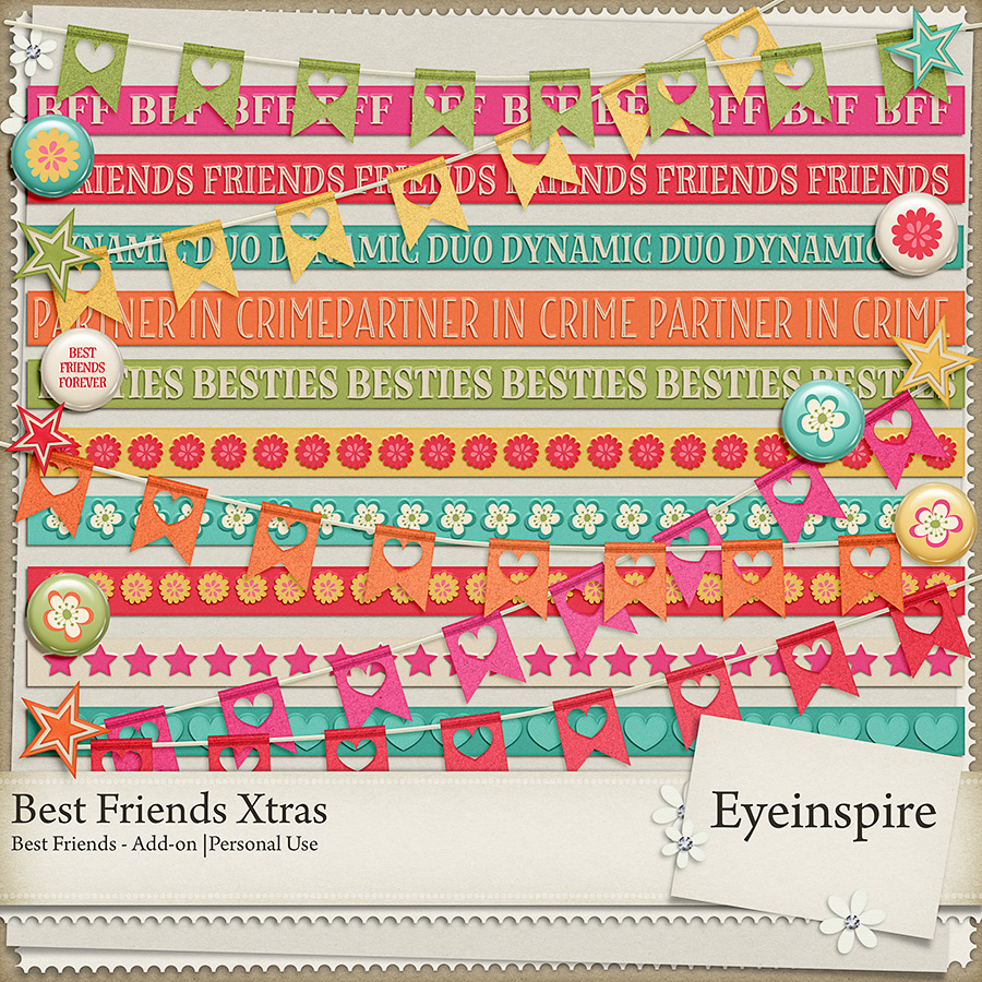 Digital Scrapbooking add-on elements